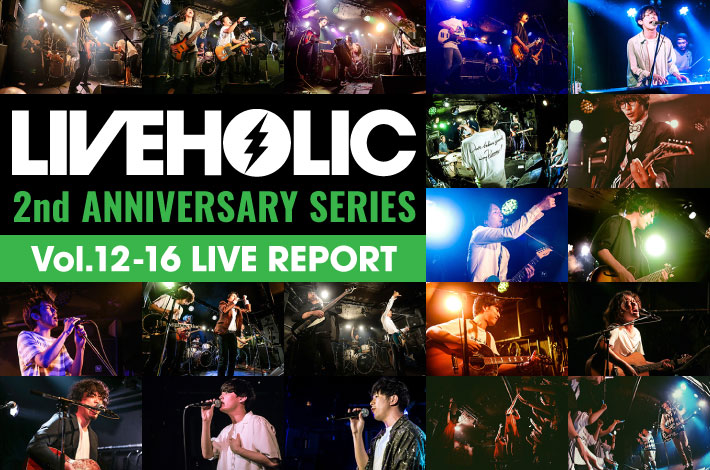 LIVEHOLIC 2nd Anniversary series vol.12-16