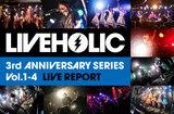 LIVEHOLIC 3rd Anniversary series Vol.1-4