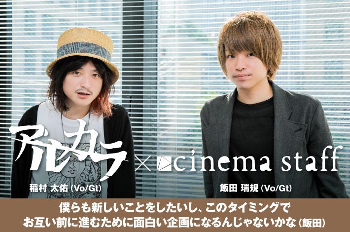 cinema staff×アルカラ