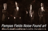 Pampas Fields Noise Found art
