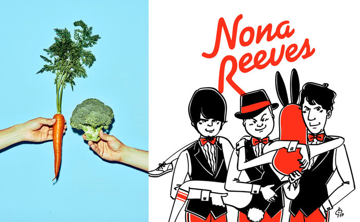 FRONTIER BACKYARD×NONA REEVES