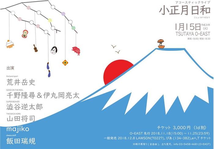 澁谷逆太郎(SUPER BEAVER)/ 山田将司(THE BACK HORN) / majiko ほか