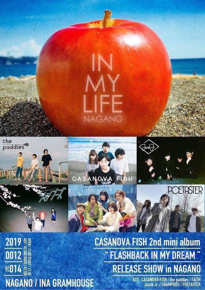 CASANOVA FISH / the paddles ほか