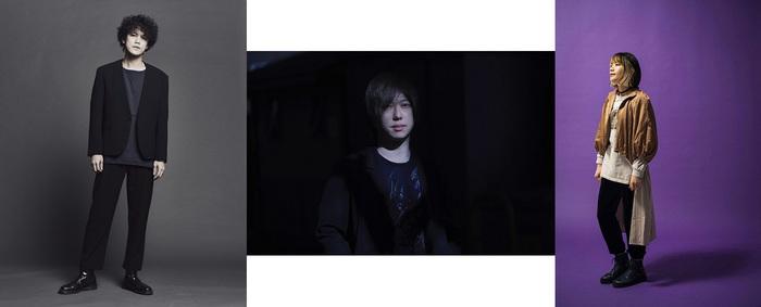 菅原卓郎(9mm Parabellum Bullet)/ 東出真緒(BIGMAMA)/ 村山☆潤