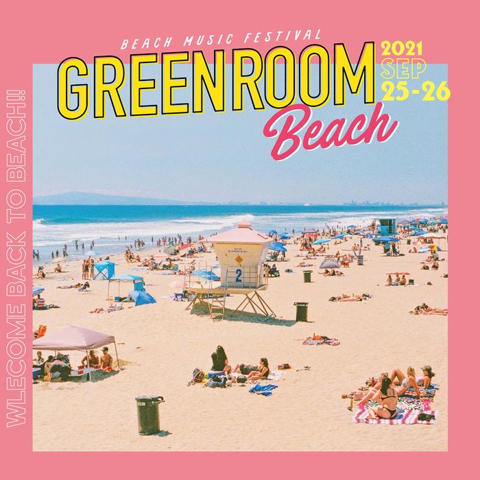 """GREENROOM BEACH"" ※開催中止"