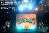 andymori|SUMMER SONIC 2011
