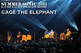 CAGE THE ELEPHANT|SUMMER SONIC 2011