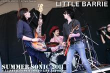 LITTLE BARRIE|SUMMER SONIC 2011
