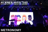 METRONOMY|SUMMER SONIC 2011