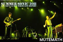 MUTEMATH|SUMMER SONIC 2011