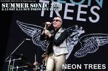 NEON TREES|SUMMER SONIC 2011