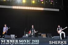 SHARKS SUMMER SONIC 2011
