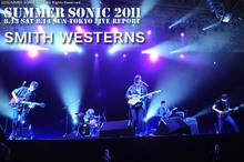 SMITH WESTERNS|SUMMER SONIC 2011
