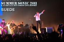 SUEDE|SUMMER SONIC 2011