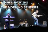 THE MORNING BENDERS|SUMMER SONIC 2011