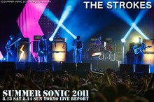 THE STROKES|SUMMER SONIC 2011