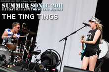 THE TING TINGS|SUMMER SONIC 2011