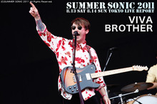 VIVA BROTHER|SUMMER SONIC 2011
