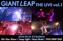 GIANT LEAP THE LIVE vol.1