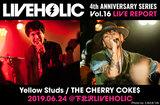 Yellow Studs / THE CHERRY COKE$
