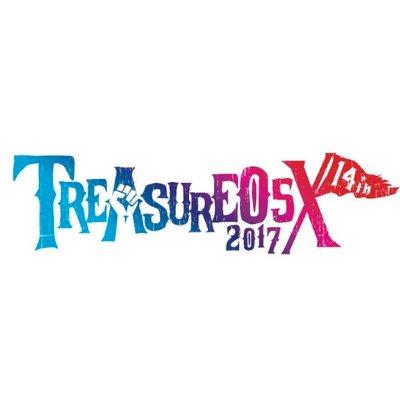 """TREASURE05X 2017""、9/2-3に愛知県蒲郡ラグーナビーチにて開催決定。第1弾出演アーティストにアルカラ、グドモ、フレデリック、SHISHAMOら12組"