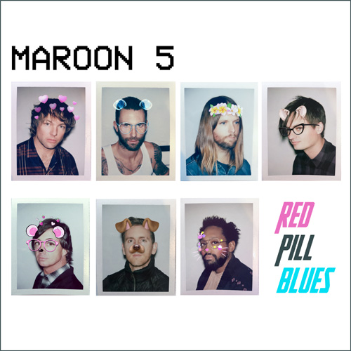 MAROON 5、明日リリースのニュー・アルバム『Red Pill Blues』より「Wait」の音源公開