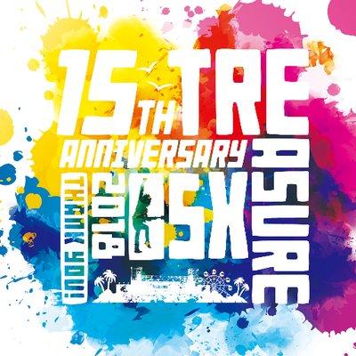 """9/8-9開催""""TREASURE05X 2018""""、全公演タイムテーブル公開。ラグーナビーチのトリはMAN WITH A MISSION & [ALEXANDROS]"""