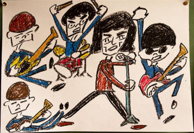 平均年齢20歳のロックンロール・バンド 錯乱前戦、5月にライヴ会場限定リリースするシングル『天国ラジオ/カレーライス』から新MV「カレーライス」公開