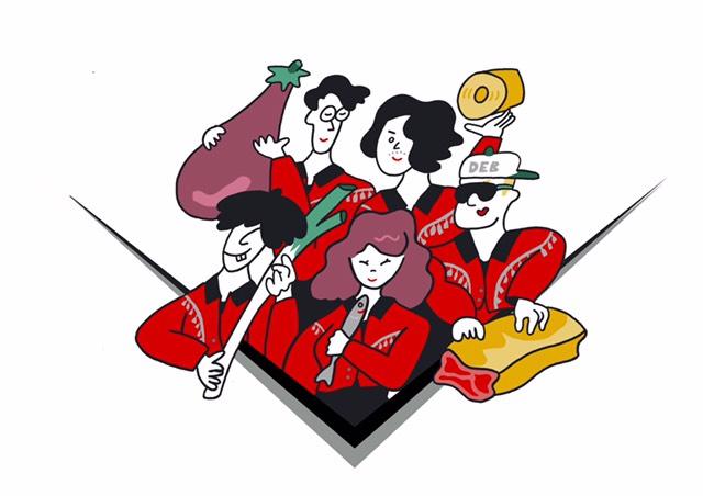 """フレンズ、ニュー・シングル『楽しもう/iをyou』6/26リリース決定。""""食""""をテーマにしたアートワークも公開"""
