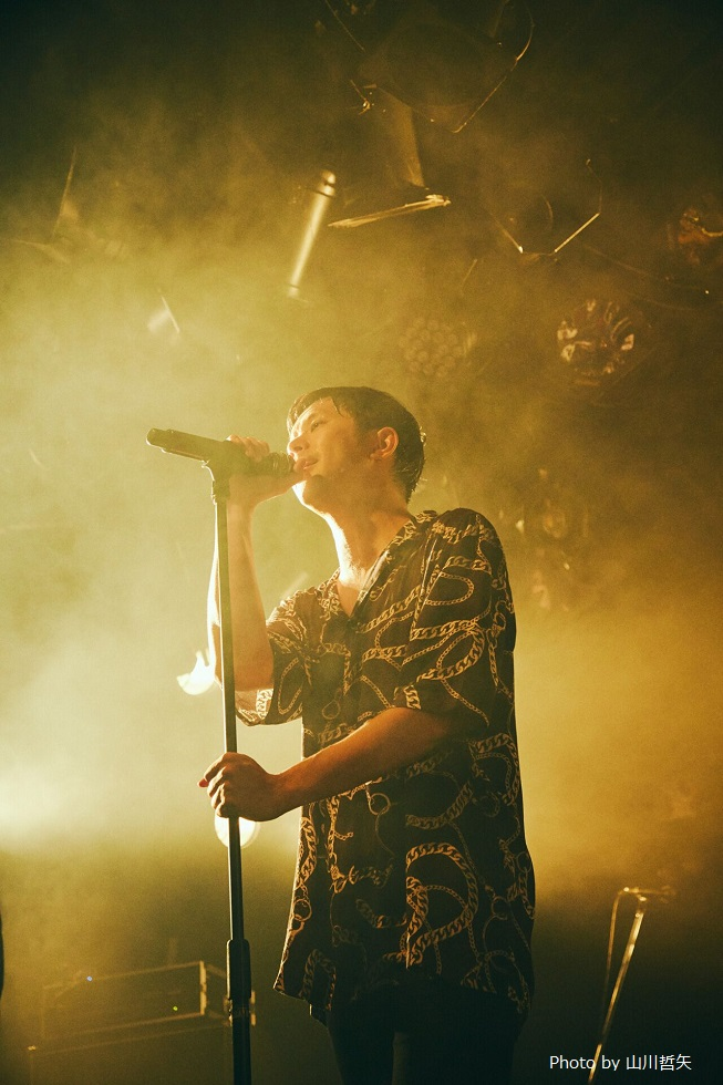 """Keishi Tanaka、""""BREATH RELEASE TOUR""""ファイナル公演を収録した『A SONG FOR YOU』第2弾リリース"""