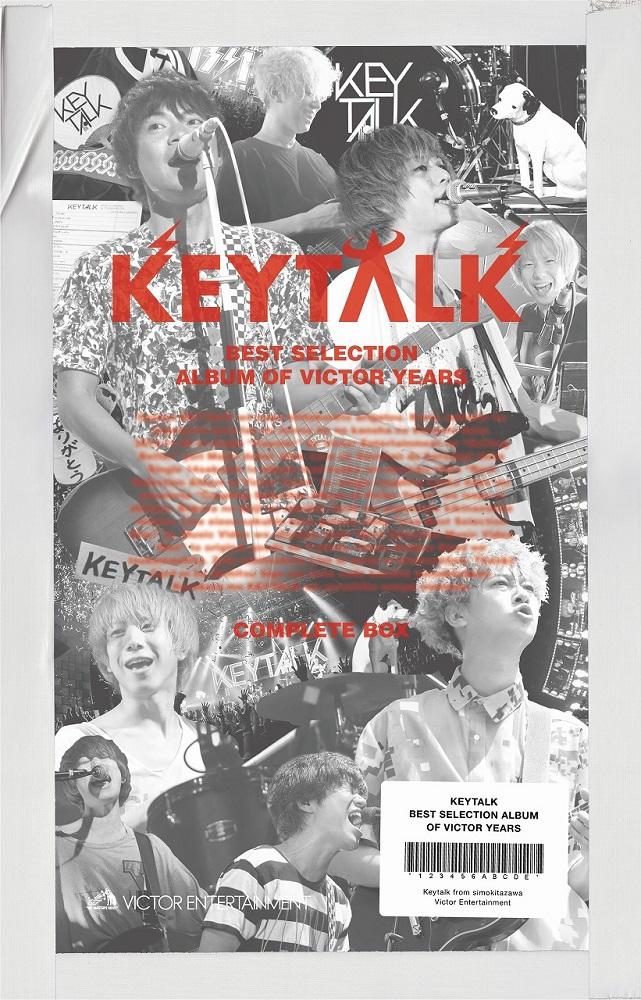 KEYTALK、キャリア初となるベスト盤リリース決定。3/11に豪華装丁の3タイトル同時発売