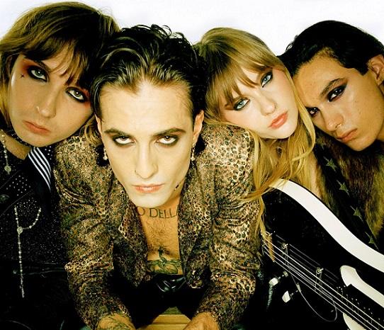 イタリア発のZ世代ロック・スター MÅNESKIN、世界的ブレイク後初となる新曲「Mammamia」リリック・ビデオ公開