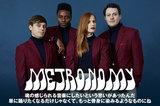 サマソニにて来日するMETRONOMYのインタビューを公開。60年代のサイケデリック・ロックやソウル・ミュージックの影響を昇華した3年ぶりのニュー・アルバムを明日リリース