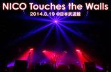 """NICO Touches the Wallsのライヴ・レポートを公開。拳を重ね、完全燃焼を誓い合った4人が、4年前の""""リベンジ""""を果たした自身2度目の日本武道館公演をレポート"""