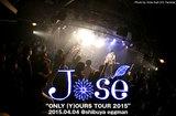 ジョゼのライヴ・レポートを公開。1stフル・アルバムを引っ提げた全国ツアー・ファイナル、あたたかく穏やかな演奏で美しく優しげな景色を描き続けた、渋谷eggmanワンマン公演をレポート