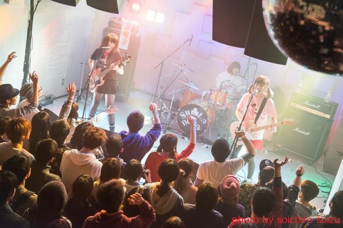 3ピース・ガールズ・バンド Su凸ko D凹koi、5/4に川崎BOTTOMS UPにて結成5周年記念イベント開催決定。2ndミニ・アルバムのリリースも決定