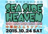 """横浜中華街サーキット・イベント""""SEA SIDE HEAVEN""""、10/24に開催決定。第1弾ラインナップにAnalogfish、Keishi Tanaka、Dr.DOWNERら8組決定"""