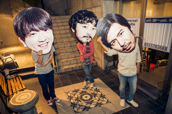 """COMEBACK MY DAUGHTERS、11/3に新代田FEVERにて開催する自主企画イベント""""ComeHome""""にthe band apartがゲスト出演決定"""