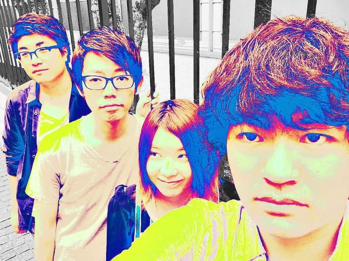 """男女混合4人組の日本語ポップス・バンド """"0℃ PARADE""""、11/18リリースの1stアルバム『TULI』より「twisted」のフル音源公開"""