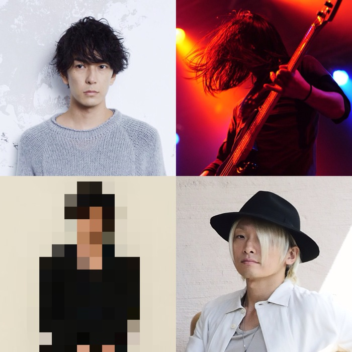 """有島コレスケ(told / 0.8秒と衝撃。)1人バンド""""arko lemming""""、12/15新代田FEVERにて開催する初ライヴのメンバーにナカヤマシンペイ、中尾憲太郎が決定。謎のギタリストも参加"""