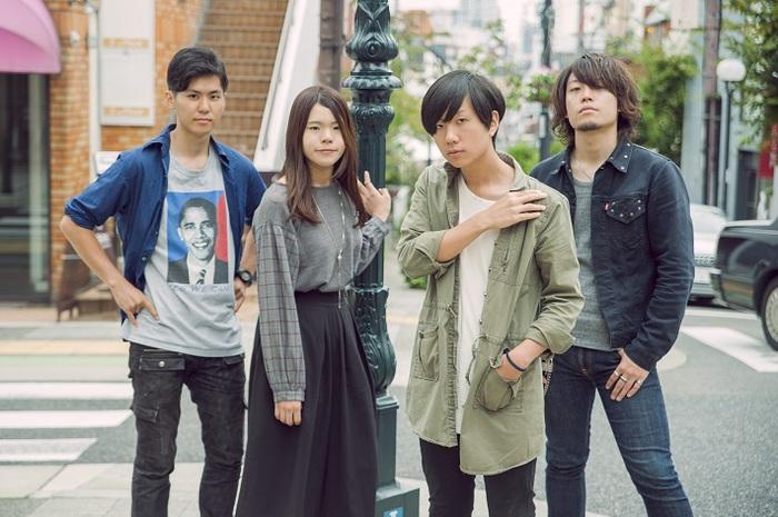 神戸発の次世代ロック・バンド ファジーロジック、4/24に神戸 太陽と虎にて開催するツアー・ファイナル公演にla la larks、THE BOY MEETS GIRLSが出演決定