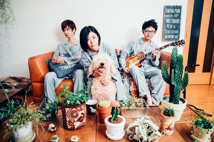 埼玉在住の3ピース・ロック・バンド スカーフ、2月より1stミニ・アルバム『やさしい音楽』のリリースを記念した初の全国ツアー開催決定