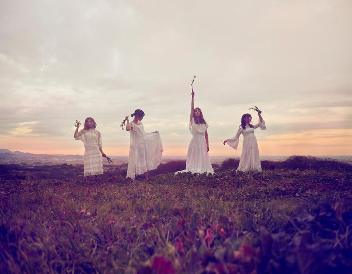 赤い公園、5人の豪華プロデューサー陣と制作したニュー・アルバム『純情ランドセル』を3/23にリリース決定。最新ヴィジュアルも公開