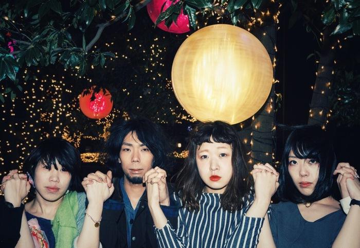男女ツイン・ヴォーカル4ピース Moccobond、5/25に2ndミニ・アルバム『告白前夜』リリース決定
