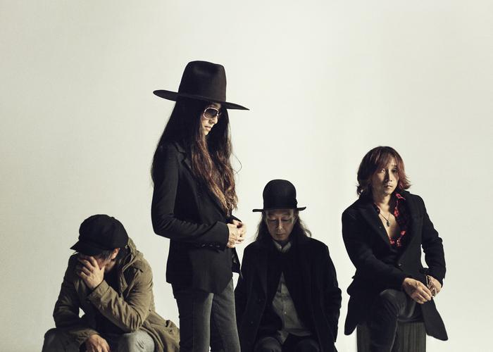 SHERBETS、ニュー・アルバム『CRASHED SEDAN DRIVE』より「COWBOY」のMV公開。3/16開催の渋谷O-EAST公演にZakuro(downy)がVJとして出演