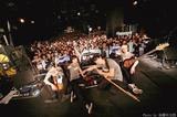 ダンサブル・ポップ4人組GOODWARP、最新アルバム『FOCUS』のダイジェスト・トレーラー公開。3/20に渋谷CLUB QUATTROにて行われたワンマン公演のライヴ写真も到着