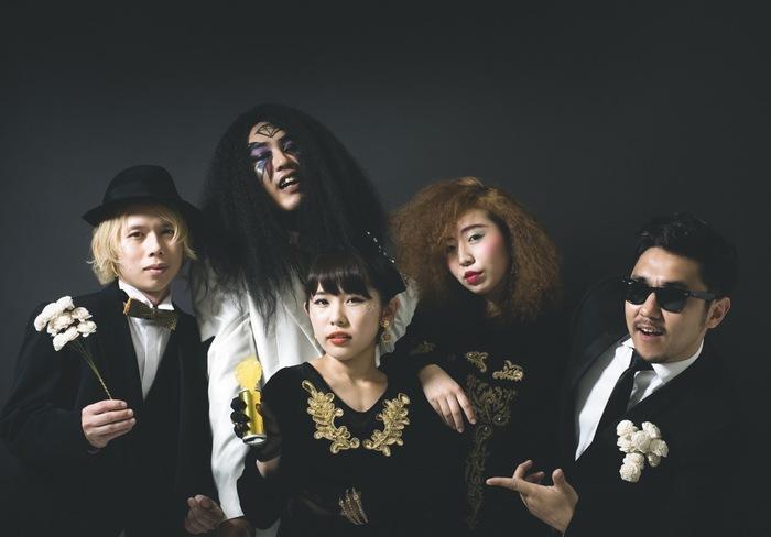 突然消えた住所不定無職!?そして突然現れた5人組 Magic, Drums & Love、6/22に1stアルバム『Love De Lux』リリース決定