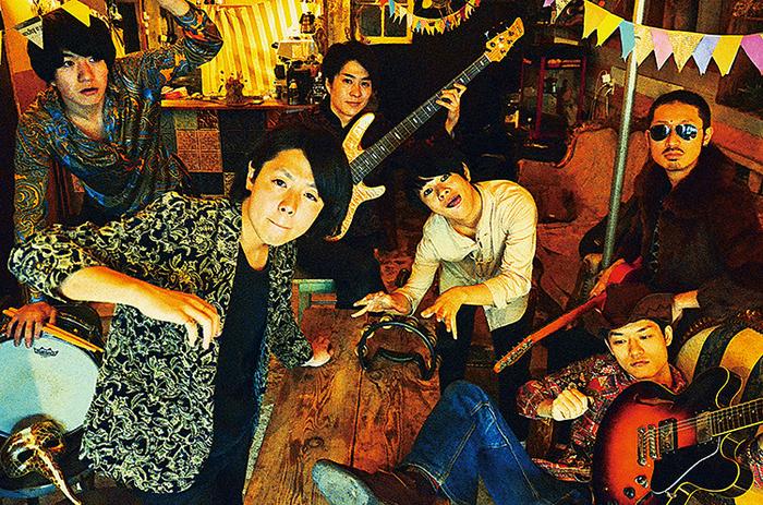 """京都発ファンク・バンド""""踊る!ディスコ室町""""、7/20に2ndミニ・アルバム『新しいNEWネオ室町』リリース決定"""