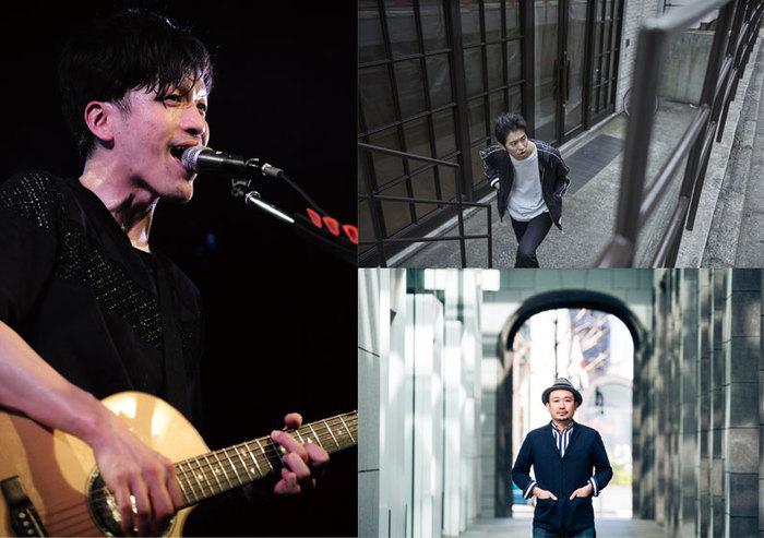 渡邊忍(ASPARAGUS/Noshow)、Keishi Tanaka、TGMX(FBY)出演。7-8月にアコースティック・イベント・ツアー開催決定