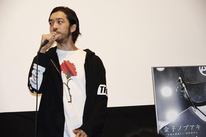 """金子ノブアキ、自身初の映像作品『Captured』上映イベントで""""次に進むための大切な作品"""""""